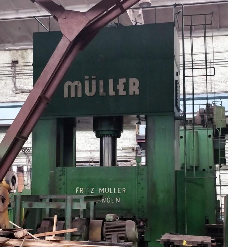 Double Column Press - Hydraulic MÜLLER ZE 600 photo on Industry-Pilot