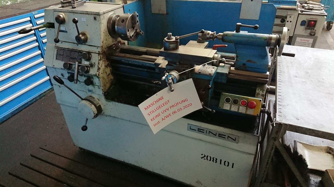 Screw-cutting lathe LEINEN DLZ 140 photo on Industry-Pilot