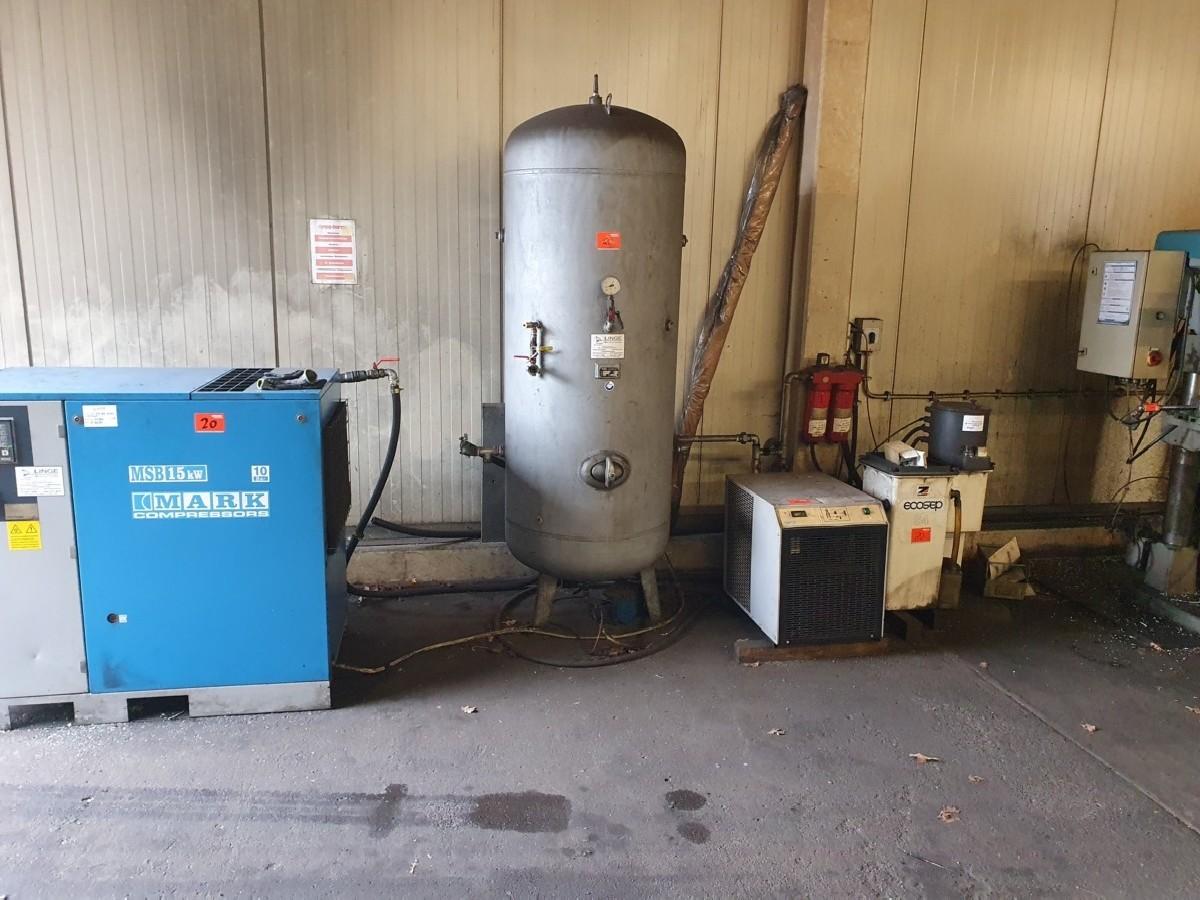 Винтовой компрессор Mark Compressors MSB 15/10 фото на Industry-Pilot