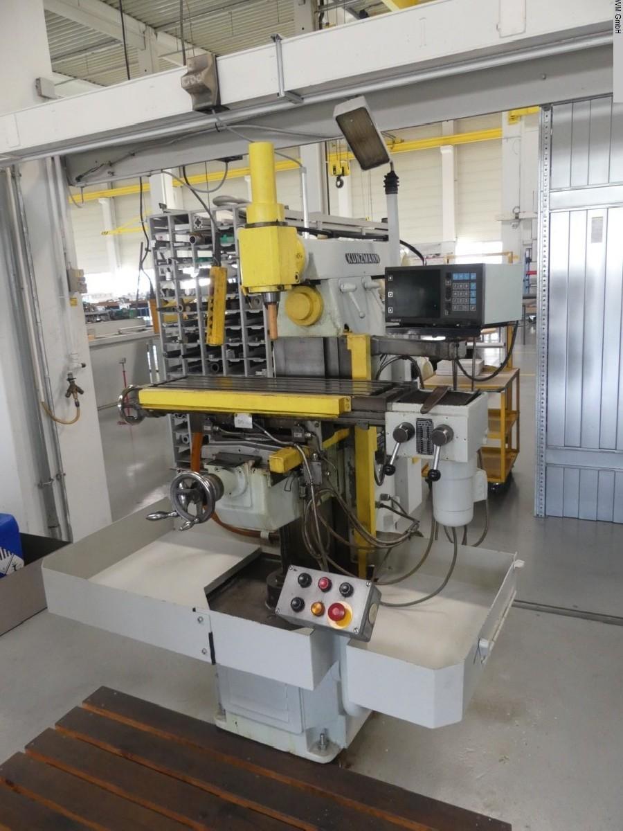 Toolroom Milling Machine - Universal KUNZMANN UF6N photo on Industry-Pilot