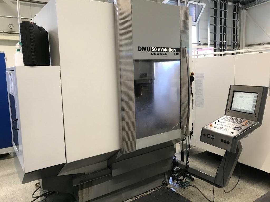 Обрабатывающий центр - вертикальный DMG-DECKEL-MAHO DMU 50 eVolution Heidenhain фото на Industry-Pilot