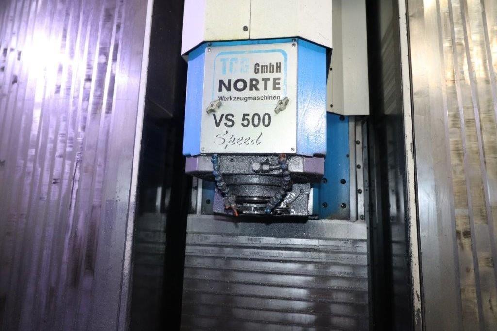 Обрабатывающий центр - вертикальный NORTE - TCG VS 500 Speed фото на Industry-Pilot