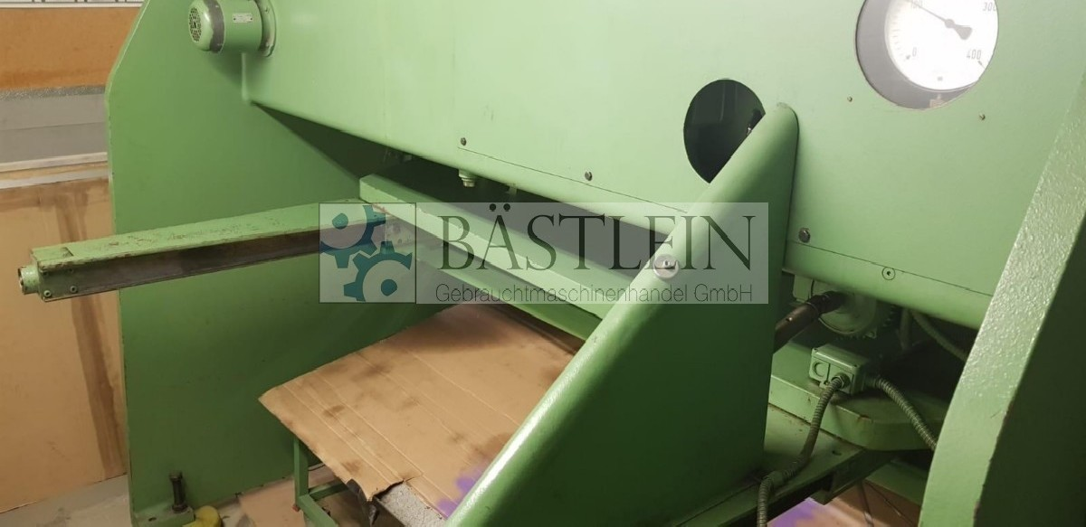 Hydraulic guillotine shear  MENGELE S8-2000 photo on Industry-Pilot