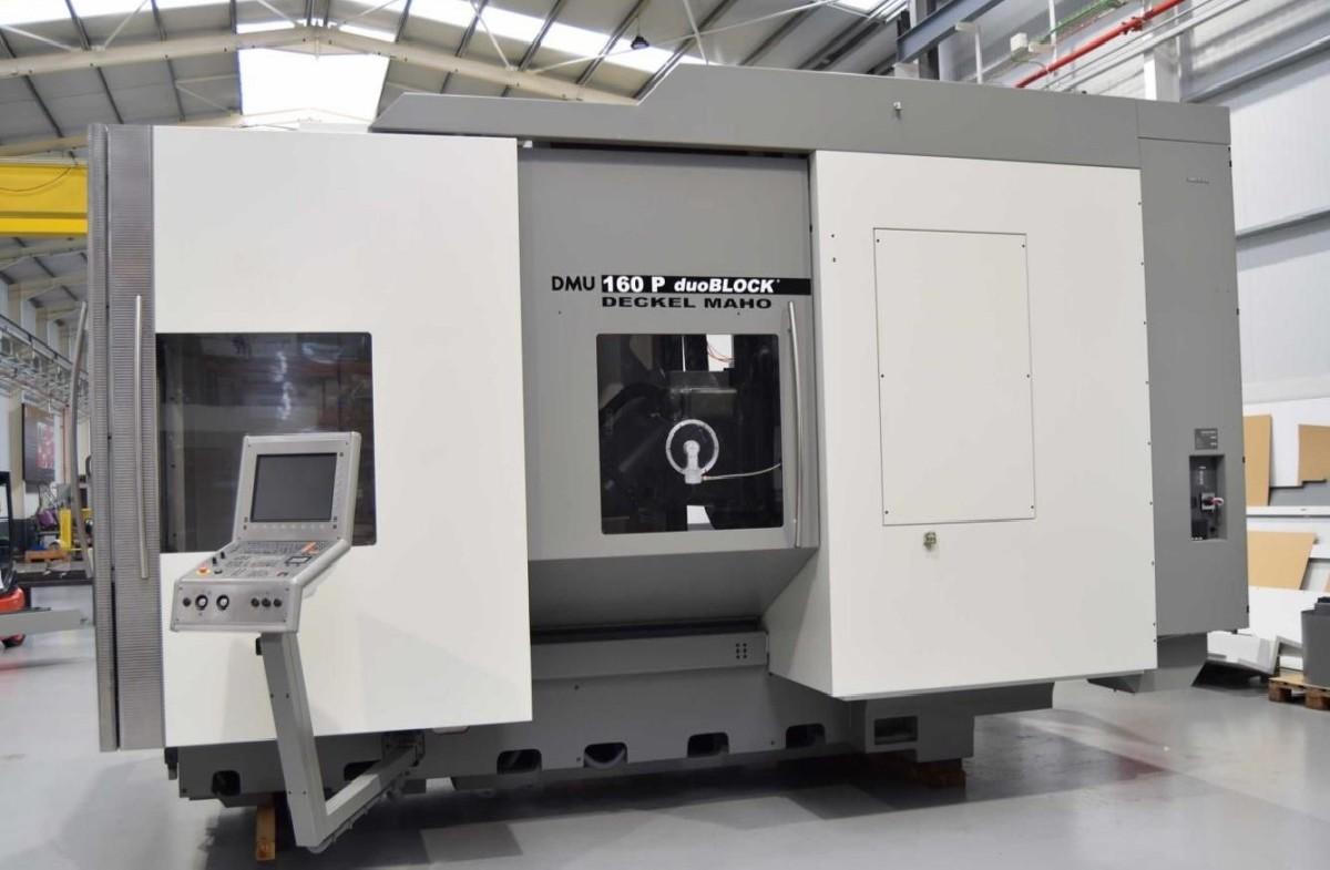 Обрабатывающий центр - универсальный DMG-DECKEL-MAHO DMU 160 P фото на Industry-Pilot
