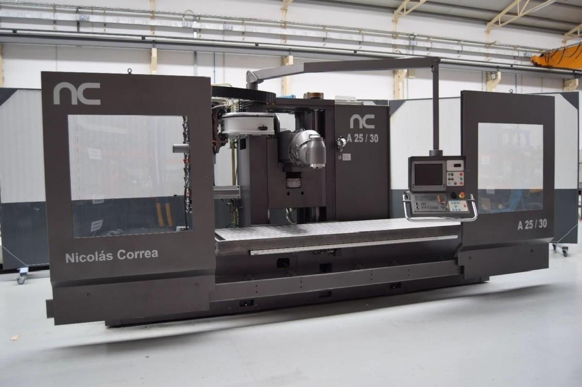 Bed Type Milling Machine - Universal CORREA A25/30 Heidenhain photo on Industry-Pilot