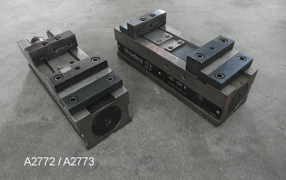 Зажимные тиски WODEX NC 125 E Heidenhain фото на Industry-Pilot
