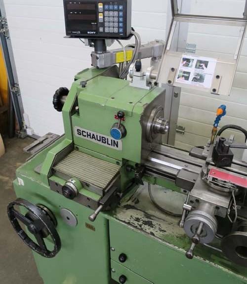 Токарно-винторезный станок SCHAUBLIN 102 N-VM Heidenhain фото на Industry-Pilot