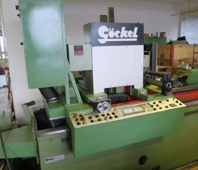 Knife grinding machine - horizontal GÖCKEL U3-PL photo on Industry-Pilot