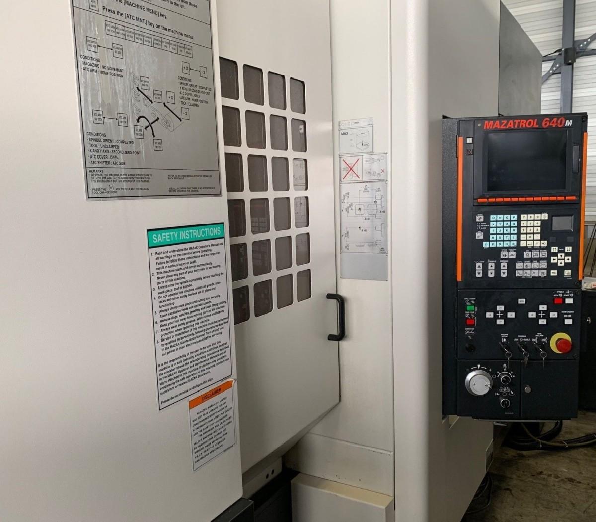 Обрабатывающий центр - горизонтальный MAZAK FH 4800 Heidenhain фото на Industry-Pilot