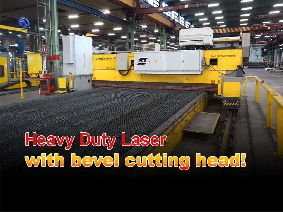 Laser Cutting Machine Esab Trumpf Heavy Duty bevelcut laser 30 x 6 meter photo on Industry-Pilot
