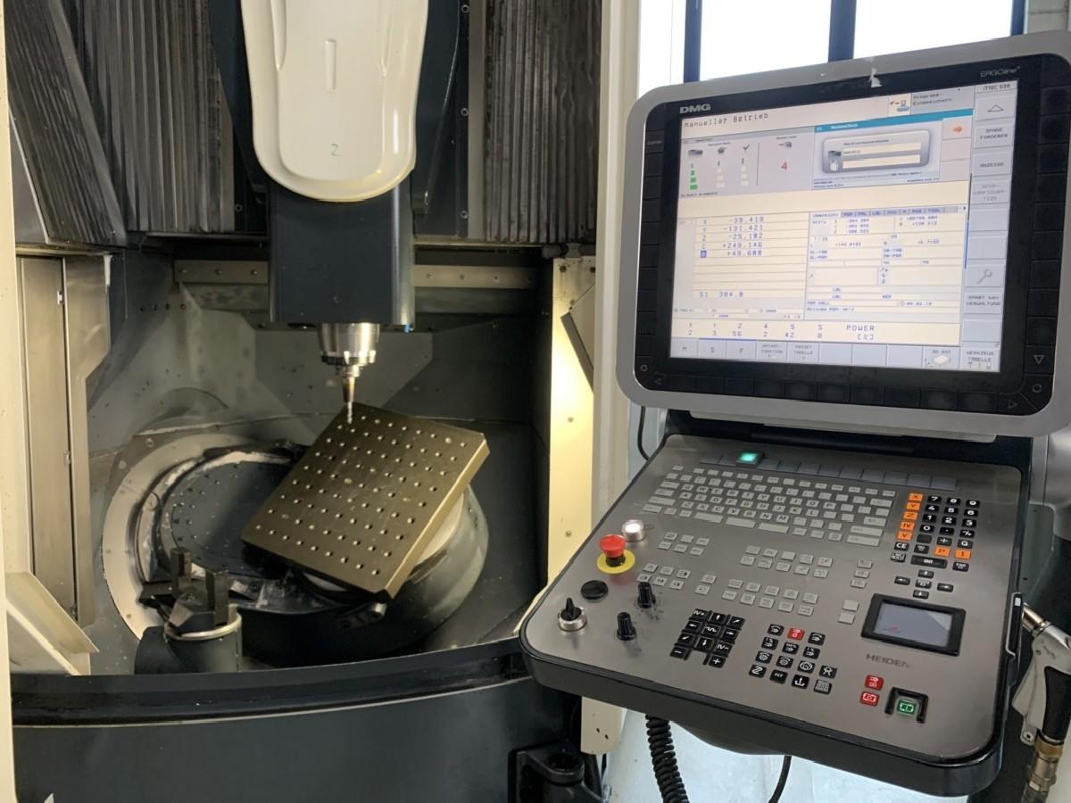 Обрабатывающий центр - вертикальный DECKEL-MAHO (DMG) DMU 60 eVo фото на Industry-Pilot