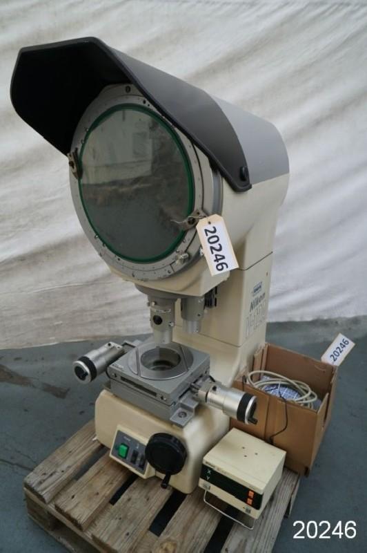 Profile projector NIKON V - 12 A photo on Industry-Pilot