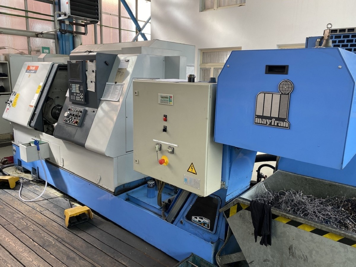 CNC Turning Machine - Inclined Bed Type MAZAK SQT 200MY photo on Industry-Pilot