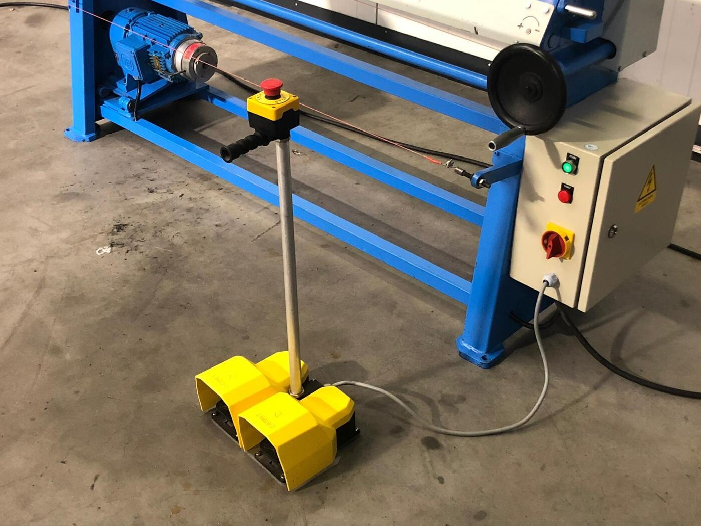 3-вальц. листогибочная машина Birlik MSM 5591 фото на Industry-Pilot