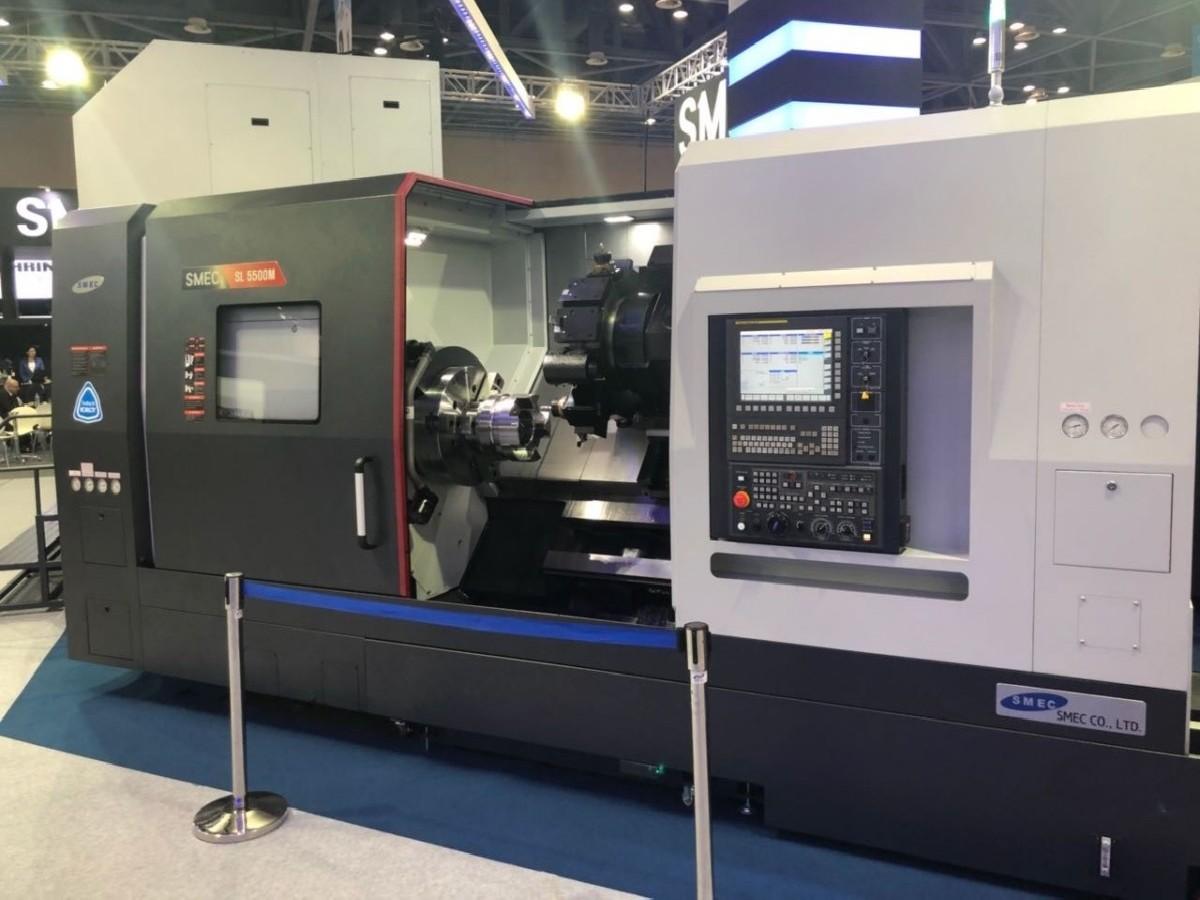 Токарно фрезерный станок с ЧПУ SMEC SL 5500 M Heidenhain фото на Industry-Pilot
