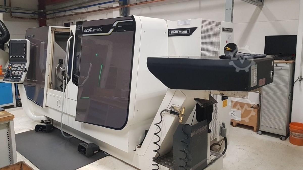 Токарно фрезерный станок с ЧПУ DMG-MORI EcoTurn 510 V3 Heidenhain фото на Industry-Pilot