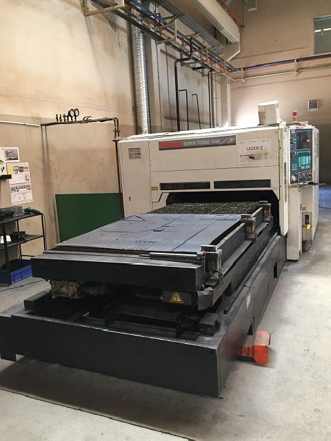 Laser Cutting Machine MAZAK SUPER TURBO X-48  photo on Industry-Pilot