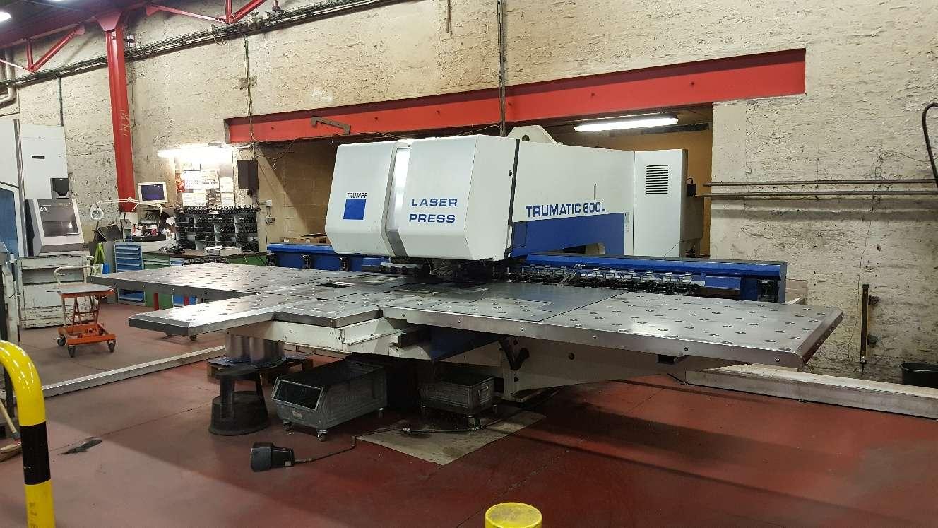 Laser stamping machine Trumpf Trumatic TC 600L - 1300, photo on Industry-Pilot