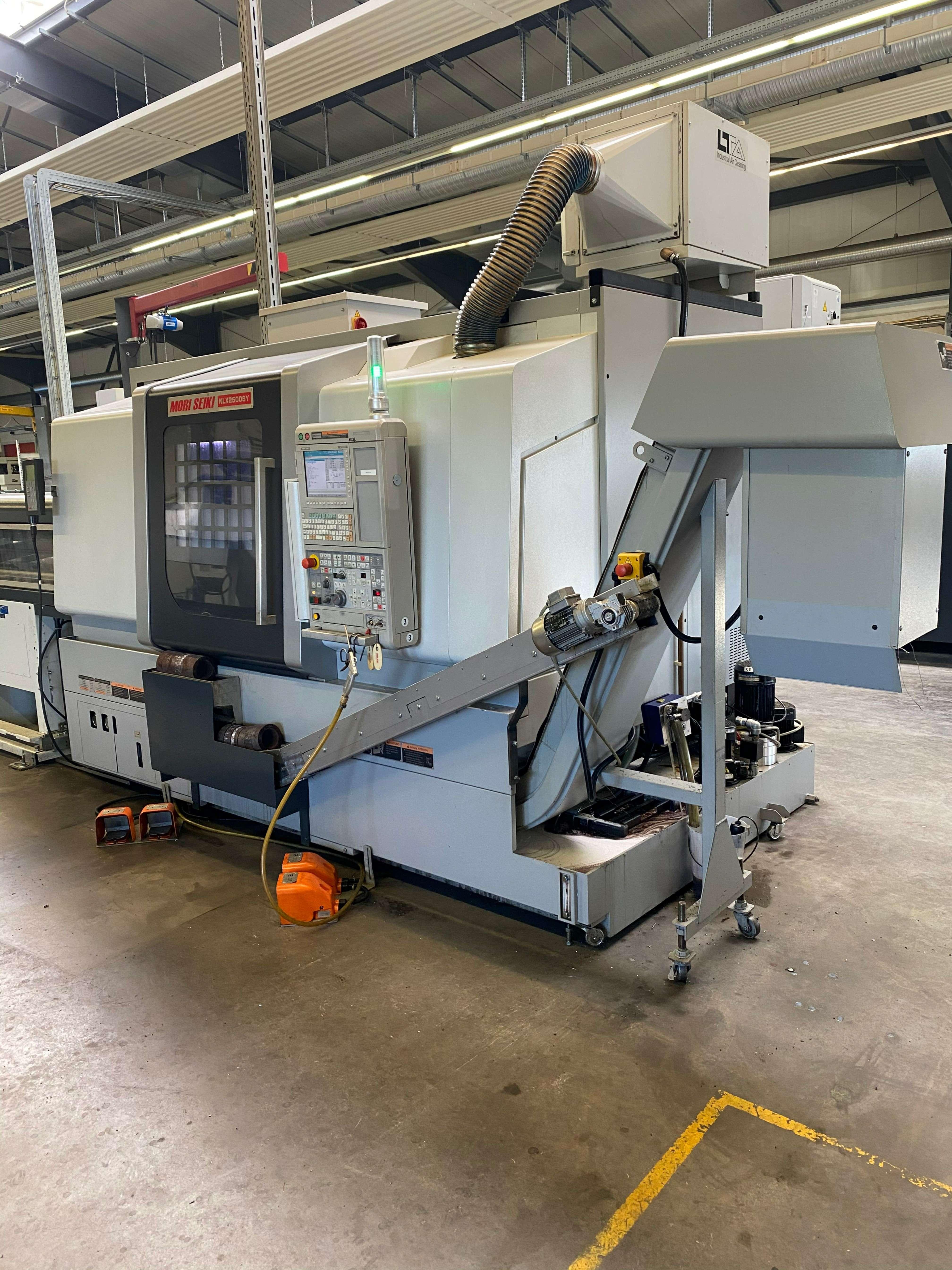 CNC Turning Machine CNC Drehmaschine Mori Seiki NLX2500SY-700 photo on Industry-Pilot