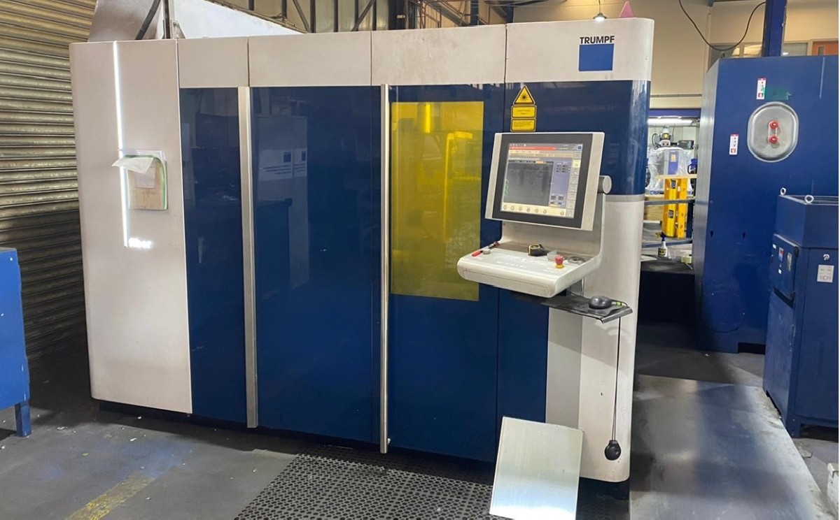 Laser Cutting Machine TRUMPF TRULASER 5030 FIBER photo on Industry-Pilot