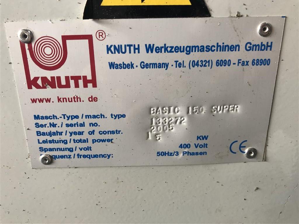 Токарно-винторезный станок KNUTH BASIC 150 SUPER Heidenhain фото на Industry-Pilot