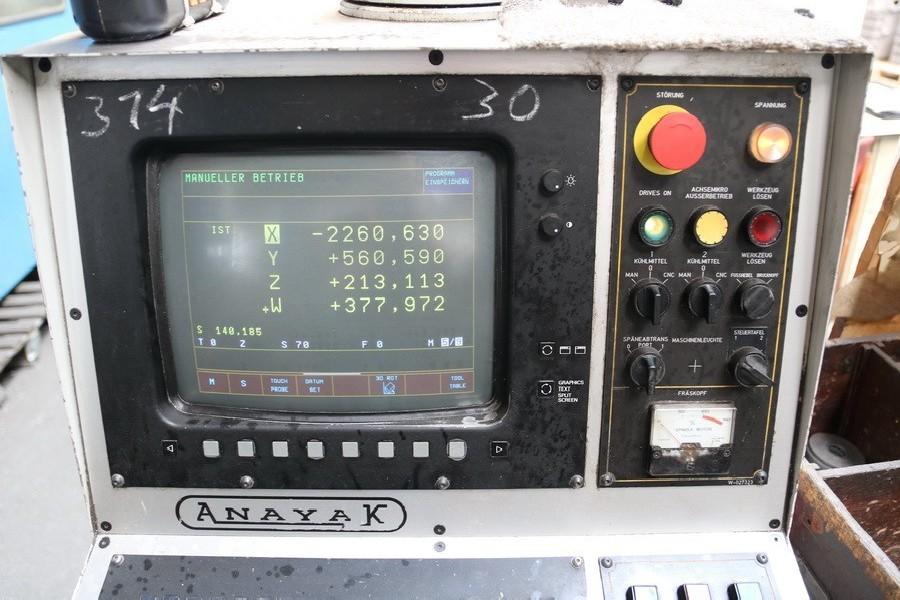 Travelling column milling machine ANAYAK HVM 7000 photo on Industry-Pilot
