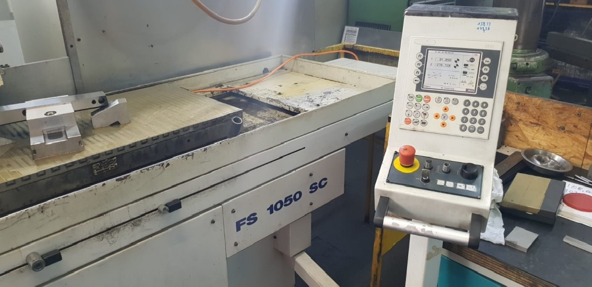 Surface Grinding Machine - Horizontal GEIBEL & HOTZ FS 1050 SC photo on Industry-Pilot