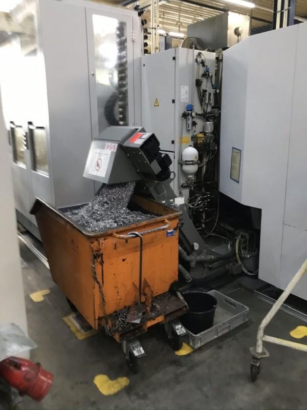 Обрабатывающий центр - горизонтальный STARRAG-HECKERT CWK 400D Dynamic SIEMENS фото на Industry-Pilot