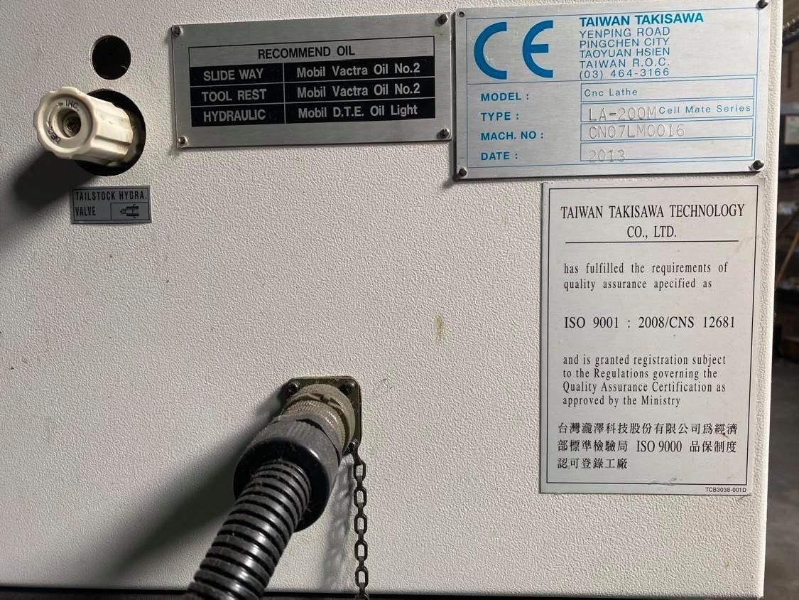CNC Turning Machine - Inclined Bed Type TAKISAWA LA 200 M photo on Industry-Pilot