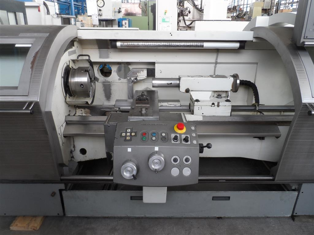 Turning machine - cycle control Gildemeister N.E.F. 520 photo on Industry-Pilot