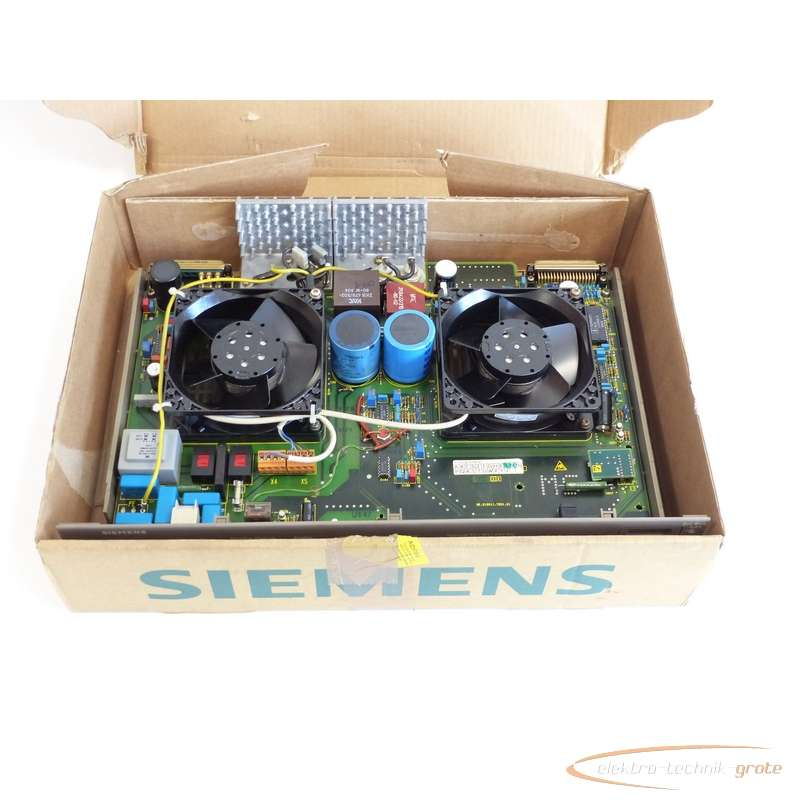 Power unit Siemens  6ES5955-3LC12E Stand 10 SN:629154 - ungebraucht! - photo on Industry-Pilot
