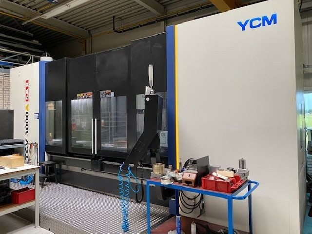 Travelling column milling machine YCM TCV 3000A-5AX photo on Industry-Pilot