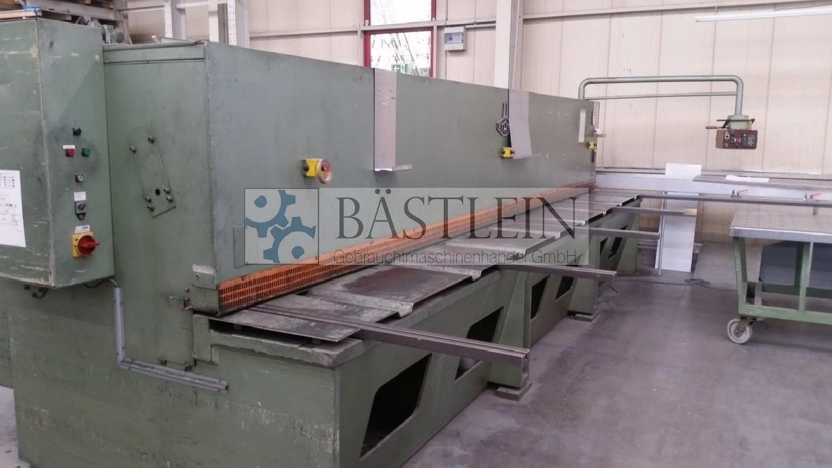 Hydraulic guillotine shear  EHT TSS 4-60 photo on Industry-Pilot