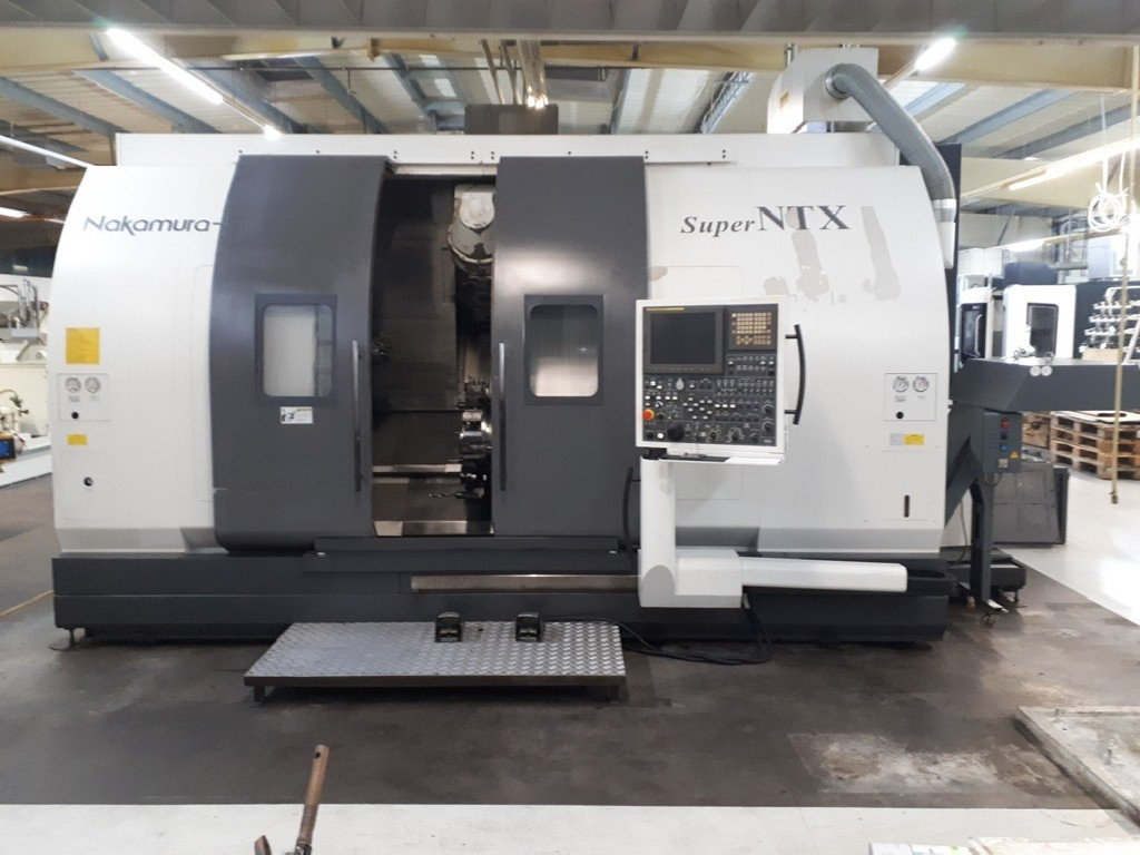 CNC Turning Machine NAKAMURA-TOME Super NTX-S photo on Industry-Pilot