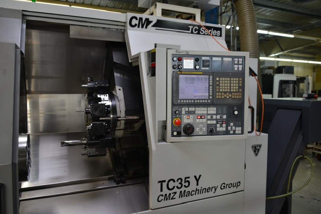 CNC Turning Machine CMZ TC-35 Y photo on Industry-Pilot