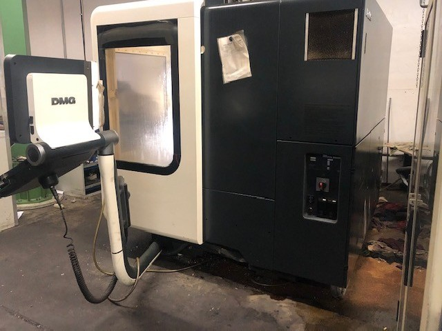 CNC Turning and Milling Machine DECKEL MAHO DMU 50 photo on Industry-Pilot