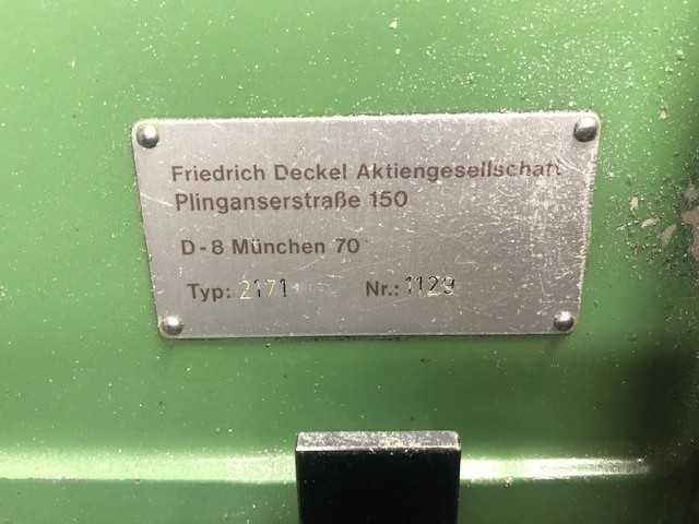 Machining Center - Universal DECKEL FP1 aktiv photo on Industry-Pilot