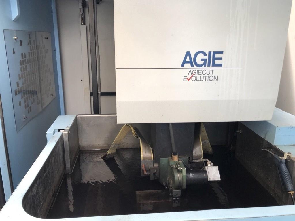Wire-cutting machine AGIE AGIECUT EVOLUTION BC2 photo on Industry-Pilot