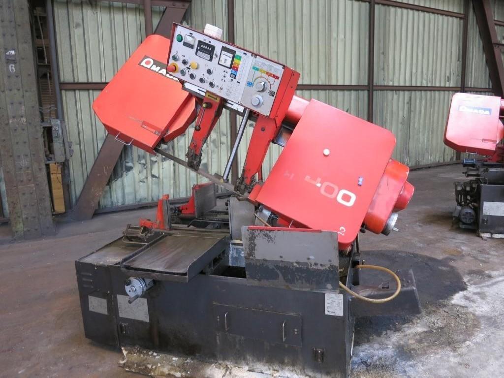 Ленточнопильный станок по металлу - Автом. AMADA HA 400 W H Heidenhain фото на Industry-Pilot