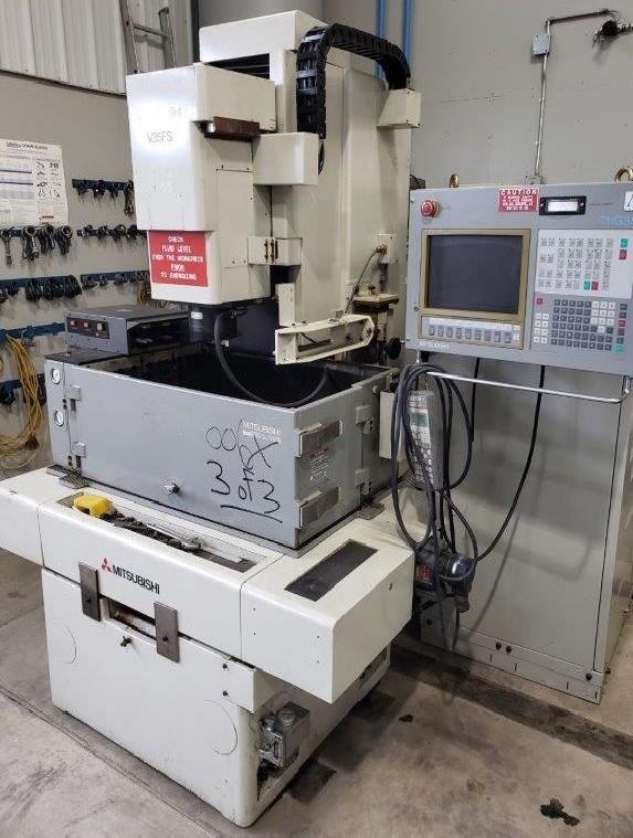 Cavity Sinking EDM Machine MITSUBISHI V35FS photo on Industry-Pilot