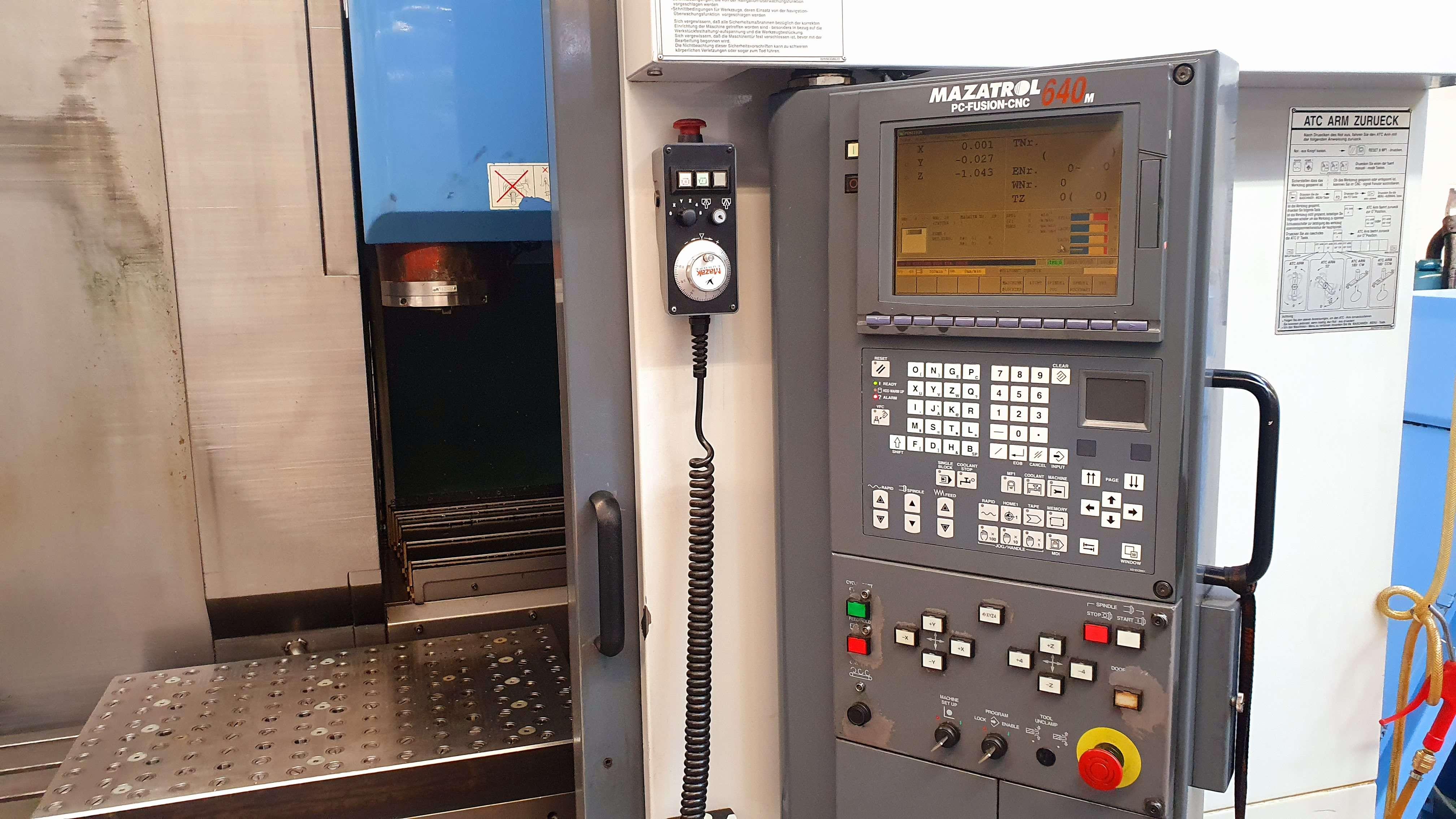 Machining Center - Vertical MZAK VTC 200 C photo on Industry-Pilot