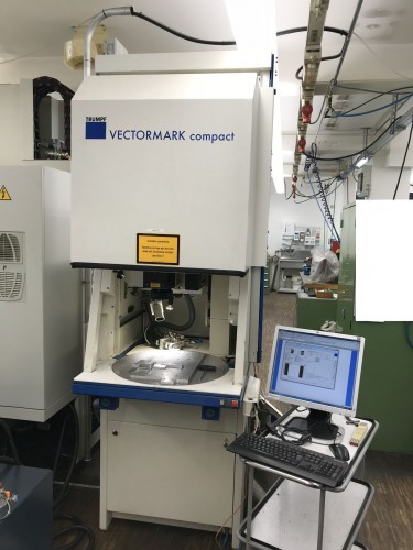 Laser Cutting Machine TRUMPF VECTORMARK COMPACT photo on Industry-Pilot