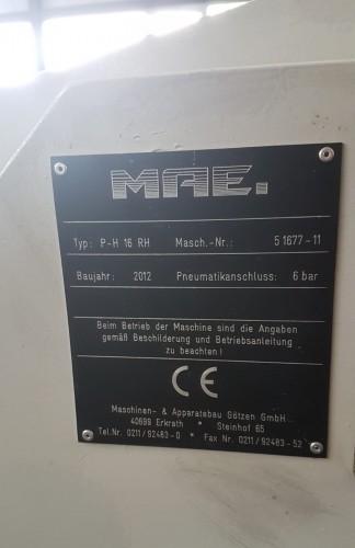 Рихтовочный пресс - одностоечный MAE P-H 16 RH фото на Industry-Pilot