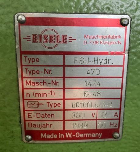 Дисковая пила - для алюминия, пластика, дерева EISELE PSU-Hydr. 470 109422 фото на Industry-Pilot