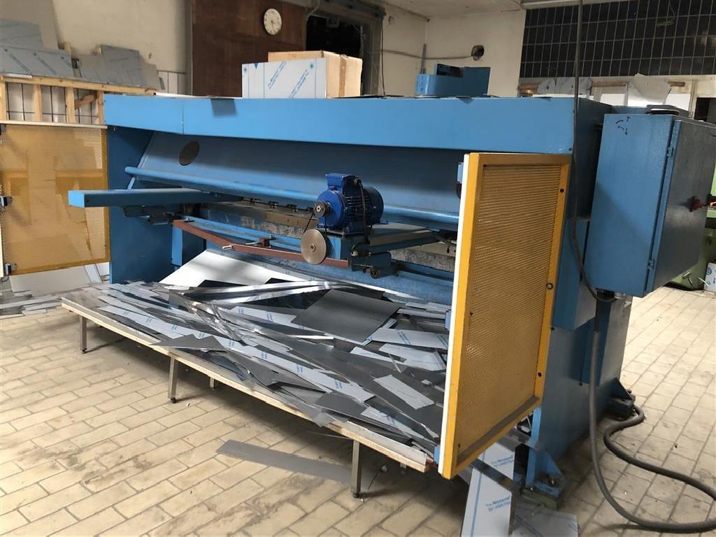 Гидравлические гильотинные ножницы ERMAK HGS 3100-6 фото на Industry-Pilot