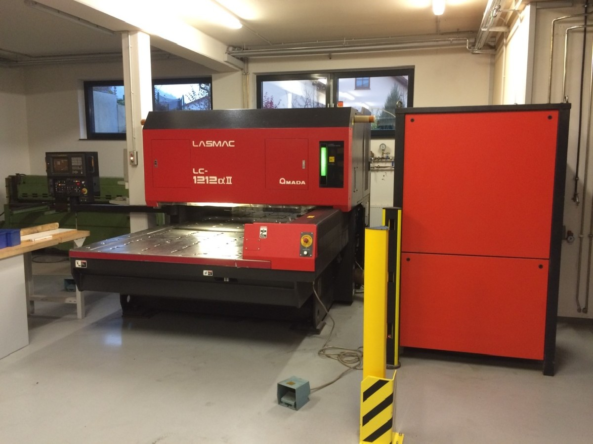 Laser Cutting Machine AMADA LC 1212 All 2 kw photo on Industry-Pilot