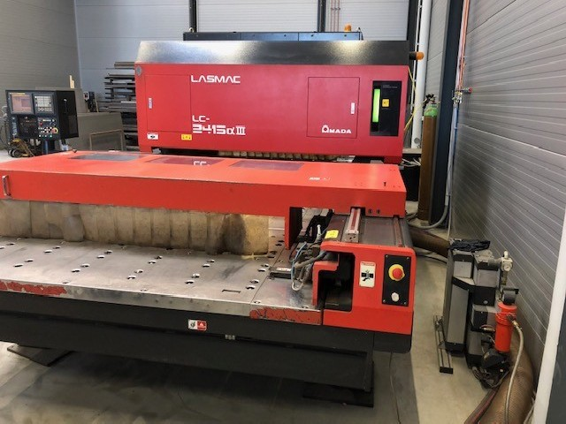 Laser Cutting Machine AMADA LC 2415 A3 4KW photo on Industry-Pilot