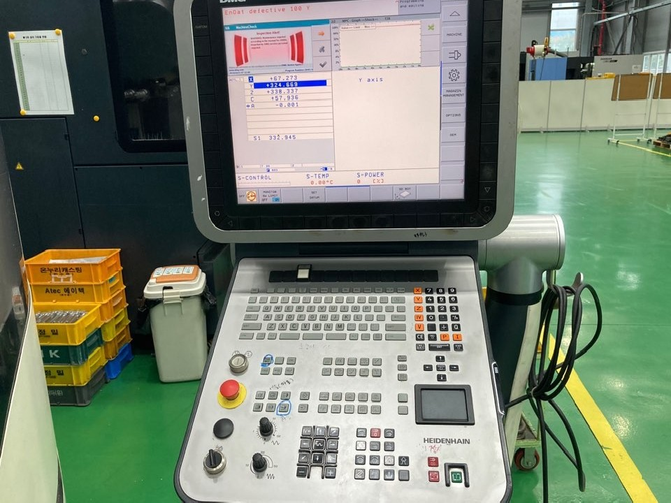 Обрабатывающий центр - универсальный DMG MORI SEIKI DMU 65 monoBLOCK фото на Industry-Pilot