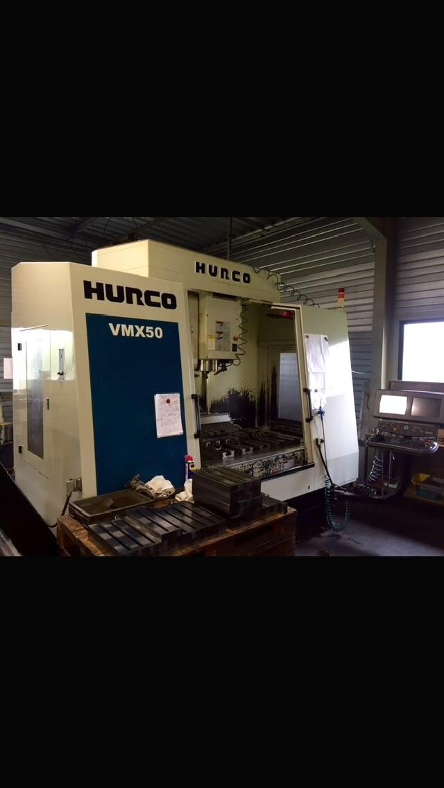 Обрабатывающий центр - вертикальный HURCO VMX 50 фото на Industry-Pilot