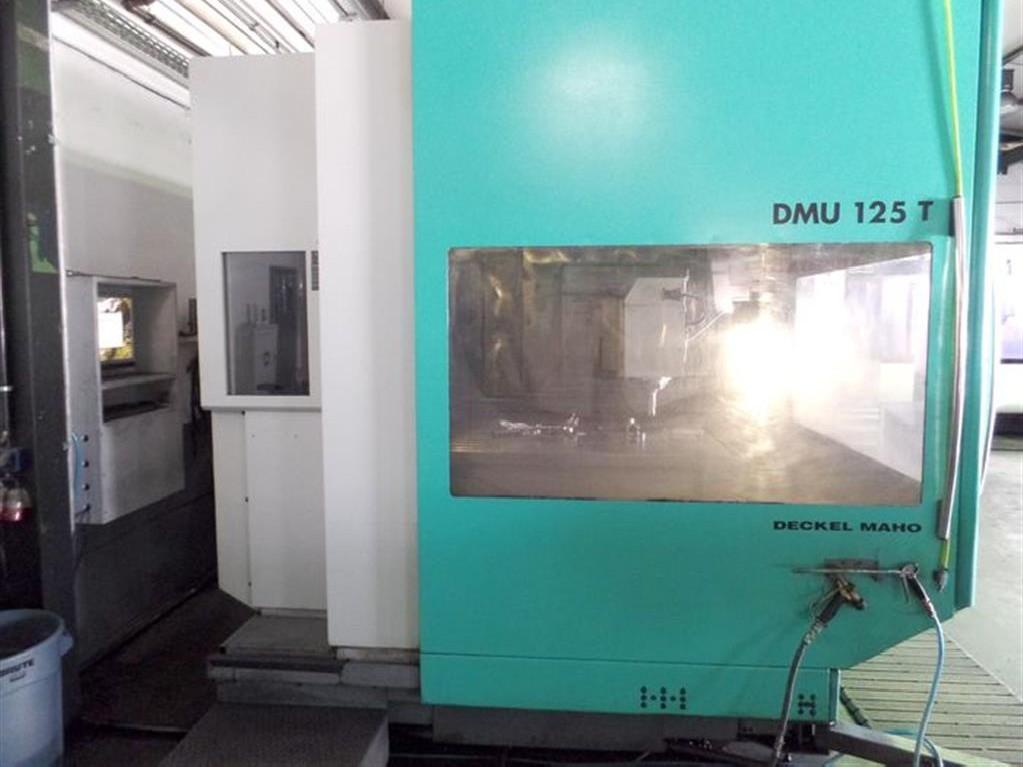 Обрабатывающий центр - вертикальный DECKEL MAHO DMG DMU 125 T hi-dyn фото на Industry-Pilot